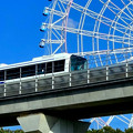 愛・地球博記念公園の大観覧車とリニモ - 3
