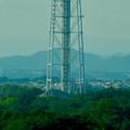 愛・地球博記念公園駅付近から見た瀬戸デジタルタワー - 2