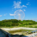 公園西駅前から見た愛・地球博記念公園の大観覧車 - 1