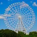 公園西駅前から見た愛・地球博記念公園の大観覧車 - 2