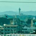 写真: リニモ車内から見えたスカイワードあさひとスカイステージ33 - 4