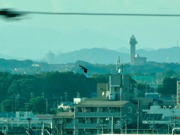 写真: リニモ車内から見えたスカイワードあさひとスカイステージ33 - 5