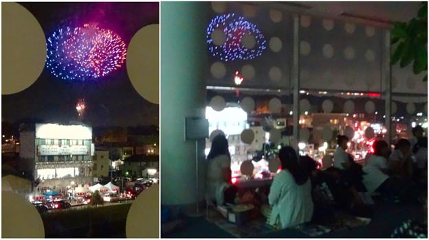 せともの祭 2017 No - 48:パルティせとから見た花火