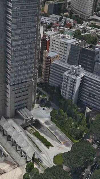 iOS 11:FlyoverでVR巨人体験 - 8(東京都)