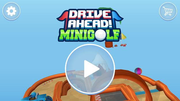 パットゴルフが楽しめるARアプリ「Drive Ahead! Minigolf」- 1