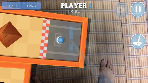 パットゴルフが楽しめるARアプリ「Drive Ahead! Minigolf」- 3