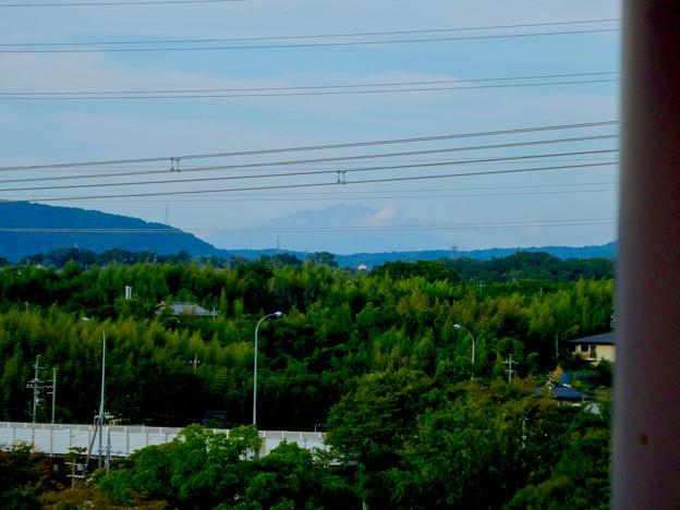 初秋の落合公園 水の塔から見た御嶽山 - 7