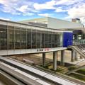 建物はほぼ完成してた「あいち航空ミュージアム」 - 5:エアポートウォーク2階から伸びる通路