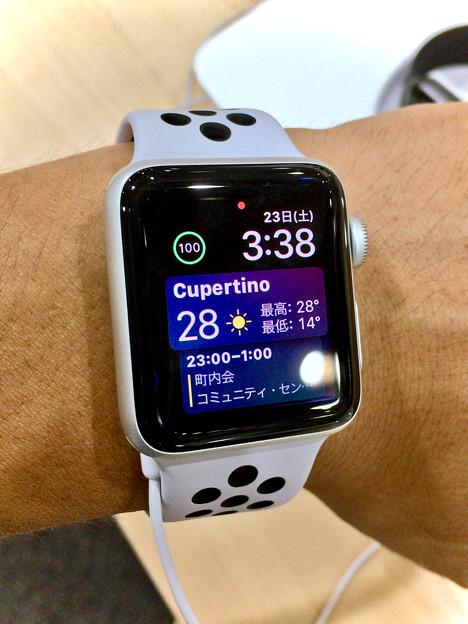 Apple Watch Series 3 No - 11:WatchOS 4で追加された新しいWatch Face「Siri Watch Face」