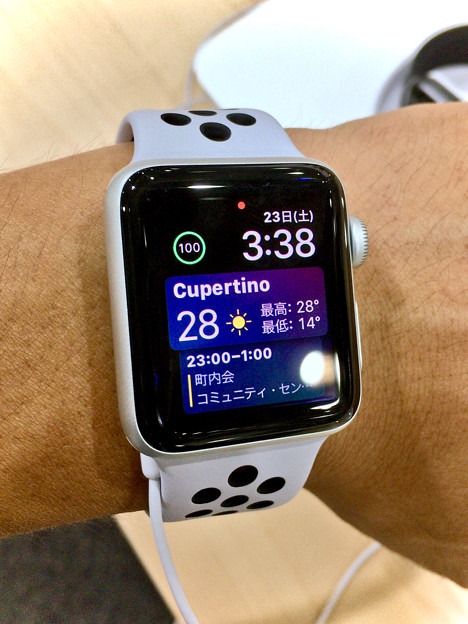 Apple Watch Series 3 No - 11:WatchOS 4で追加された新しいWatch Face「Siri Watch Face」