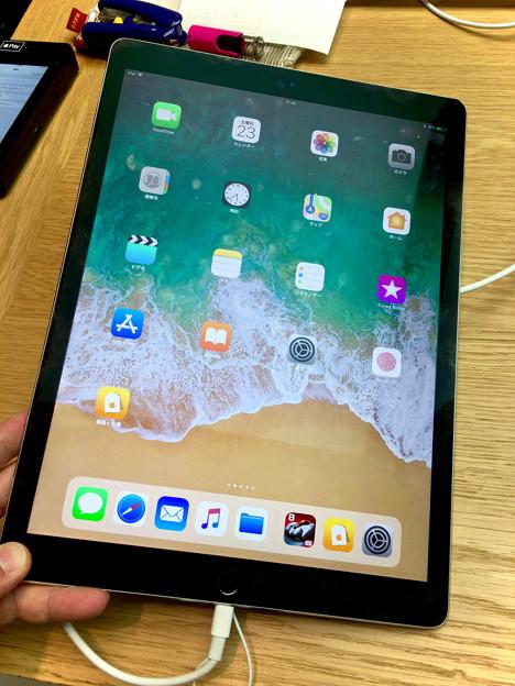 iOS 11が入ったiPad Pro No - 1:ホーム画面