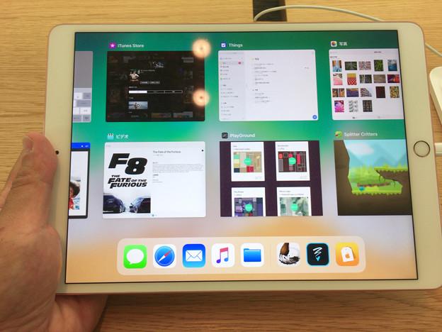 iOS 11が入ったiPad Pro No - 12:App Switcher