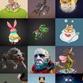 写真: 3Dモデル共有サービス「Sketchfab」公式アプリ - 34:3Dモデル一覧