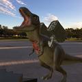 Photos: 3Dモデル共有サービス「Sketchfab」公式アプリ - 52:3DモデルをAR!(ロケットランチャーを装備したティラノサウルス)