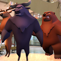 3Dモデル共有サービス「Sketchfab」公式アプリ - 66:3DモデルをAR!(トナカイとバッファローと熊)