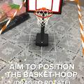 写真: ARを使ったバスケットゲーム「AR Sports Basketball」 - 1
