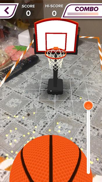 ARを使ったバスケットゲーム「AR Sports Basketball」 - 3