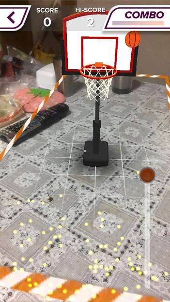 ARを使ったバスケットゲーム「AR Sports Basketball」 - 5