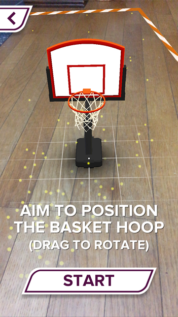 ARを使ったバスケットゲーム「AR Sports Basketball」 - 10