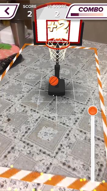 ARを使ったバスケットゲーム「AR Sports Basketball」 - 14