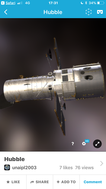 3Dモデル共有サービス「Sketchfab」公式アプリ - 106