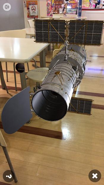 3Dモデル共有サービス「Sketchfab」公式アプリ - 119:3DモデルをAR!(ハッブル宇宙望遠鏡)