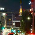 大須商店街から見た名古屋テレビ塔