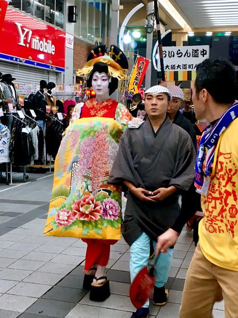 大須大道町人祭 2017 No - 90:夜のおいらん道中