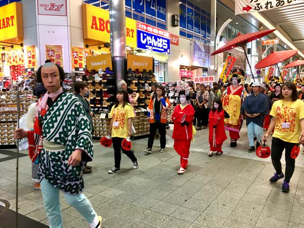 大須大道町人祭 2017 No - 92:夜のおいらん道中