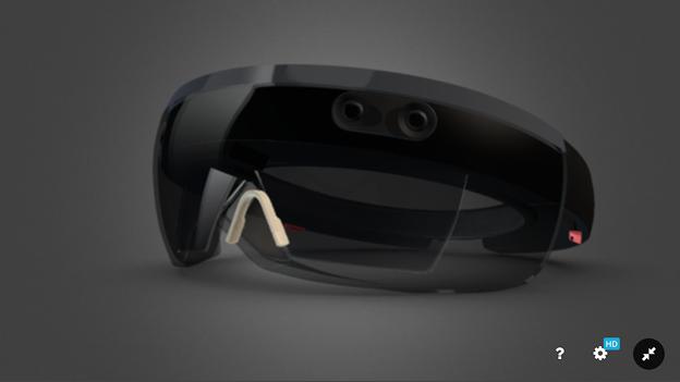 Sketchfab:HoloLensの3Dモデル - 3