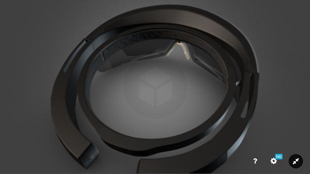 Sketchfab:HoloLensの3Dモデル - 4
