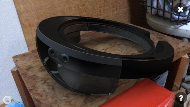 Sketchfab:HoloLensの3DモデルをARで表示 - 1