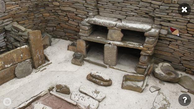 スコットランドの集落遺跡「スカラ・ブレイ(その1)」 No - 7:ARで表示