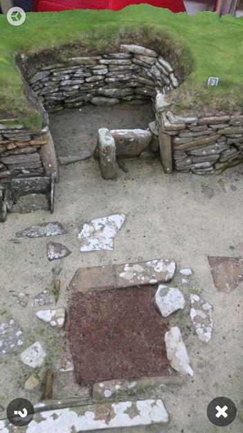 Photos: スコットランドの集落遺跡「スカラ・ブレイ(その2)」 No - 7:ARで表示