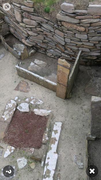 スコットランドの集落遺跡「スカラ・ブレイ(その2)」 No - 8:ARで表示