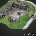 写真: Sketchfab公式アプリ:ARモードの起動ボタン