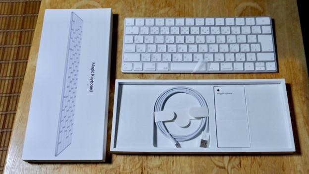 Magic Keyboard No - 5:箱の中身