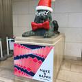 Photos: 今年はファンキーな格好になってた、クリスマスシーズンの名古屋三越栄店のライオン像 - 1