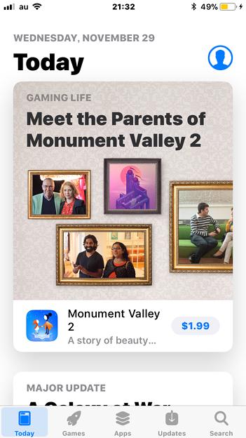 iOS 11:App StoreをUSのストアに変更
