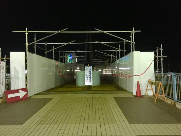 ピアーレ・ピエスタ間を結ぶ歩道橋の工事 - 3