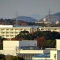 落合公園 水の塔から見た市営下原住宅