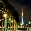 久屋大通公園南側から見た名古屋テレビ塔 - 2