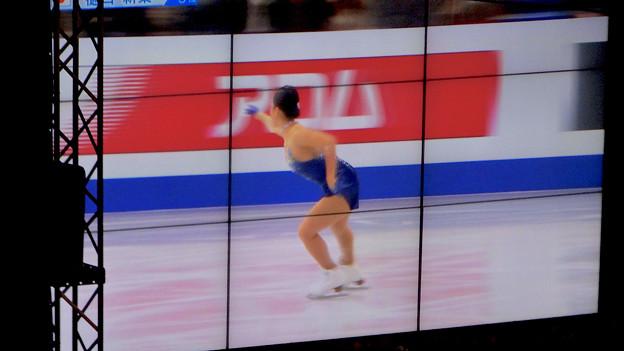豊田合成リンク横でフィギュアスケート「GPファイナル」のパブリックビューイング! - 11