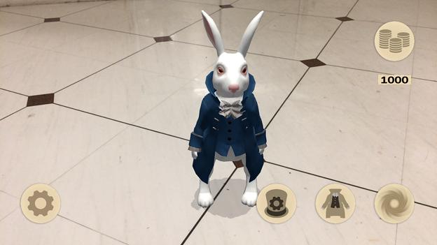 『不思議の国のアリス』を題材にしたミニゲームアプリ「Alice in Wonderland AR quest」2.1 No - 2