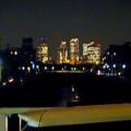 八田川沿いから見た夜の名駅ビル群 - 1