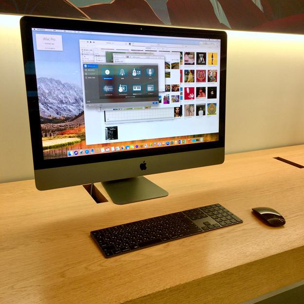 Appleストア名古屋栄に展示されてた「iMac Pro」 - 2