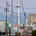 名古屋市北消防署のUFOみたいに見える通信塔 - 1