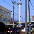 名古屋市北消防署のUFOみたいに見える通信塔 - 6