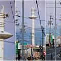 名古屋市北消防署のUFOみたいに見える通信塔 - 12