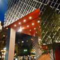 写真: 建物が完成した4月再開場予定の御園座 - 9:御園座入り口?